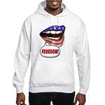 FlagMouth: FREEDOM Hooded Sweatshirt