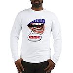 FlagMouth: FREEDOM Long Sleeve T-Shirt