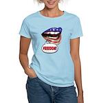 FlagMouth: FREEDOM Women's Light T-Shirt