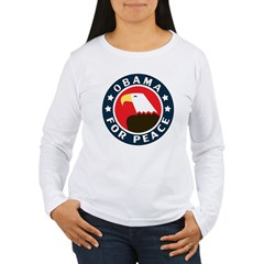 Obama For Peace Women's Long Sleeve T-Shirt