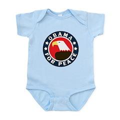 Obama For Peace Infant Bodysuit