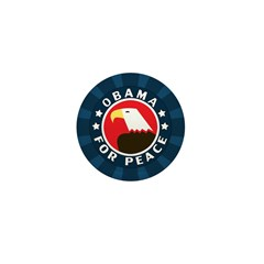 Obama For Peace Mini Button