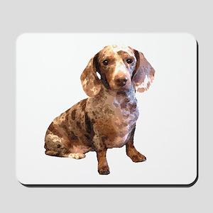 Spotty Dachshund Dog Mousepad