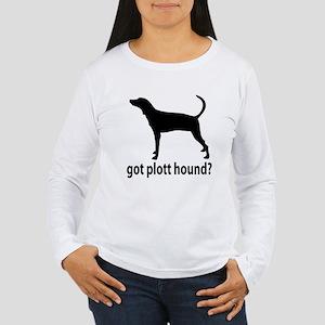 Got Plott Hound? Women's Long Sleeve T-Shirt