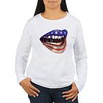 FlagMouth: [re1] Women's Long Sleeve T-Shirt