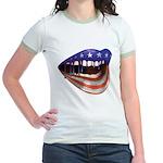 FlagMouth: [re1] Jr. Ringer T-Shirt