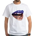 FlagMouth: [re1] White T-Shirt