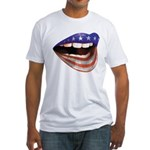 FlagMouth Fitted T-Shirt