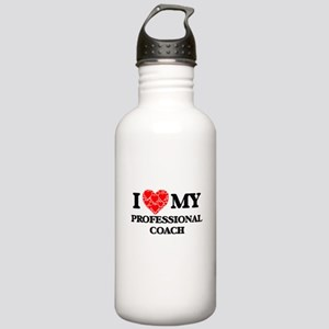 I Love my Professional Stainless Water Bottle 1.0L