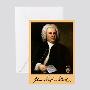 J.S. Bach Greeting Cards