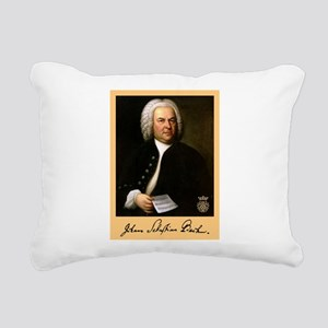 J.S. Bach Rectangular Canvas Pillow