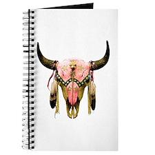Star Bison Skull Journal