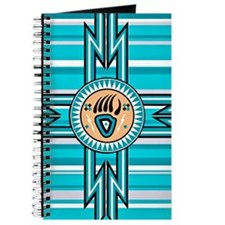Turquoise Bear Paw - Native American Journal