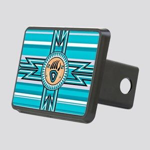 Turquoise Bear Paw - Nativ Rectangular Hitch Cover
