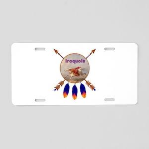 Native American Iroquois Aluminum License Plate