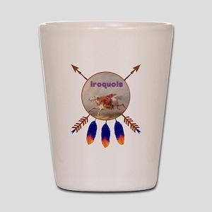 Native American Iroquois Shot Glass