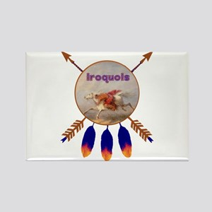 Native American Iroquois Rectangle Magnet