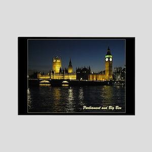 Parliament and Big Ben - Rectangle Magnet