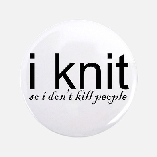 """Cute Knit 3.5"""" Button"""