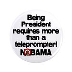 """Teleprompter 3.5"""" Button (100 pack)"""