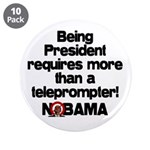 """Teleprompter 3.5"""" Button (10 pack)"""