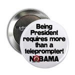 """Teleprompter 2.25"""" Button (100 pack)"""
