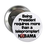 """Teleprompter 2.25"""" Button"""