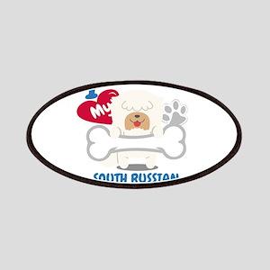 SOUTH RUSSIAN OVCHARKA Cute Dog Gift Idea Fu Patch