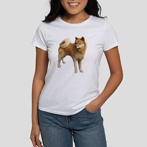 Finnish spitz portrait Women's T-Shirt