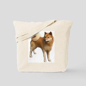 Finnish spitz portrait Tote Bag