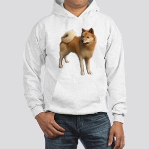 Finnish spitz portrait Hooded Sweatshirt