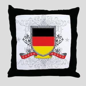 Deutschland Shield Throw Pillow