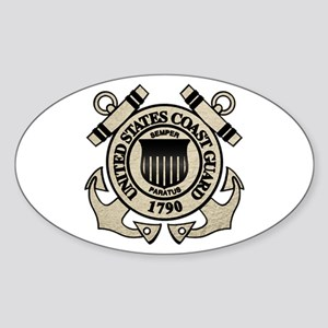 USCG Oval Sticker