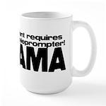 Teleprompter Large Mug