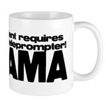 Teleprompter Mug