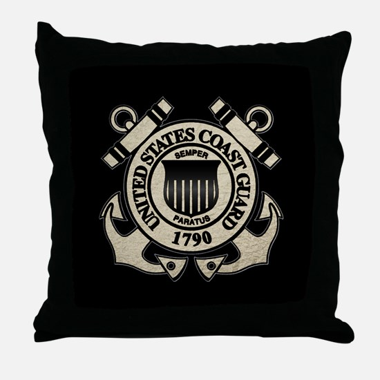 USCG Throw Pillow