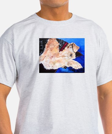 Cool Whimsical airedale T-Shirt