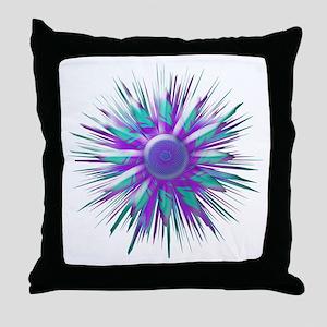 Optical Sun - Throw Pillow