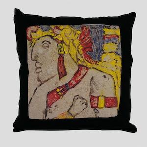 Maya Portrait - Throw Pillow