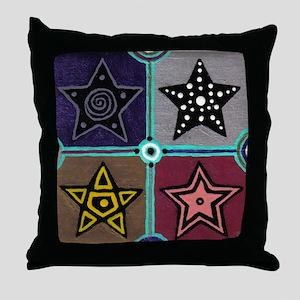 4 Stars - Throw Pillow
