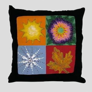Four Seasons - Throw Pillow