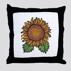 Sunflower - Throw Pillow