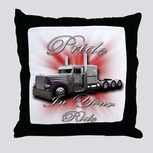 Pride In Ride 4 Throw Pillow