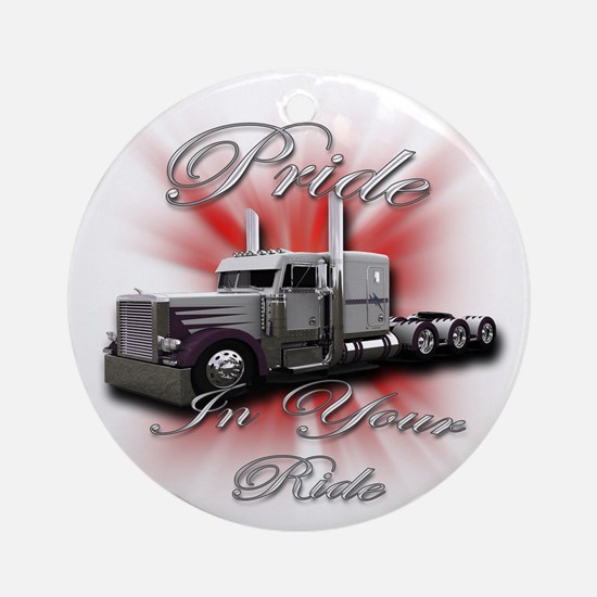 Pride In Ride 4 Ornament (Round)