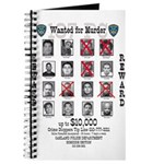 Wanted for Murder Journal