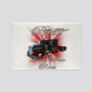 Pride In Ride 3 Rectangle Magnet