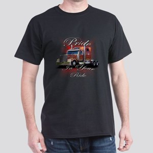 Pride In Ride 2 Dark T-Shirt