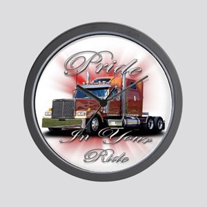 Pride In Ride 2 Wall Clock
