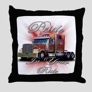 Pride In Ride 2 Throw Pillow