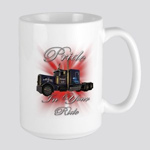 Pride In Ride 1 Large Mug